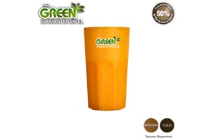 Copo Roma Green Personalizável 380ml - Fibra
