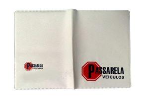 Porta Documentos Duplo Personalizável Vertifcal de Plástico - PD-49V - - brindes vitória espirito santo