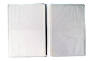 Porta Documentos Duplo Personalizável Vertifcal de Plástico - PD-49V - brindes vitória espirito santo