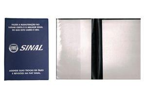 Porta Manual de Carro Personalizável - PMPCARRO - - brindes vitória espirito santo