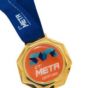 Medalha octogono vitória espirito santo