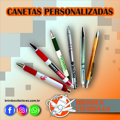 Brindes VITORIA Canetas